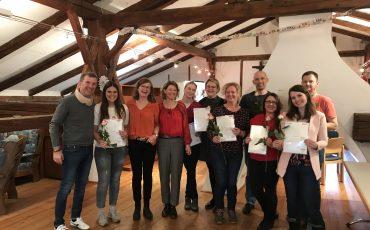 Abschluss Mentorenausbildung Mentor Südtirol Seniorenwohnheim Altenwohnheim